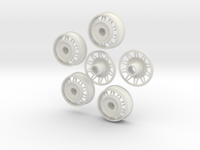 1:16 TRIANG WHEELS TRUCK in White Natural Versatile Plastic