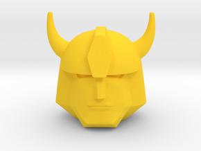 Hommel 22 mm in Yellow Processed Versatile Plastic