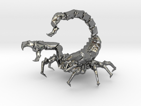 Skorpion in Premium Silver