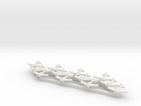 SBD-3 Dauntless (Triplet) 1/900 x4 in White Natural Versatile Plastic
