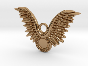 Wings in Polished Brass