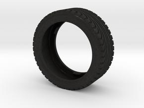 CATERHAM Tire Front Left x1 Black Acrylic 1-12 in Black Acrylic