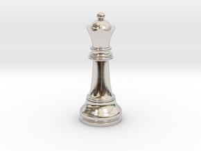Single Chess Queen Big Standard | Timur Vizir in Platinum