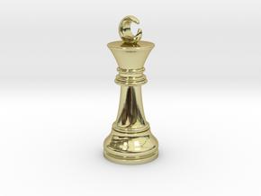 Single Chess King Moon Big / Timur Prince Ferz Viz in 18k Gold