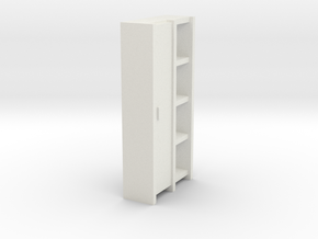 A 004 Schrank cupboard HO 1:87 in White Natural Versatile Plastic