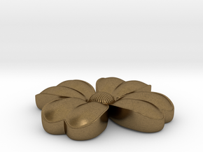 Flower coulomb in Natural Bronze