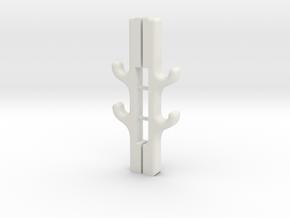 1:10th scale Gun Rack in White Natural Versatile Plastic