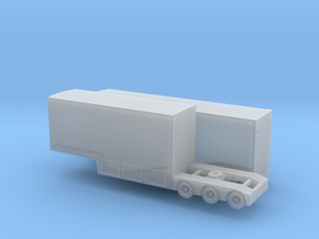 N scale 1/160 V8 Supercar Racing Transporter B-Tra in Frosted Ultra Detail