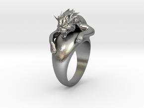 Manusia Harimau in Natural Silver