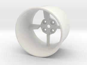 26.5mm Edf Housing in White Natural Versatile Plastic