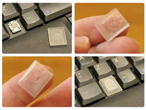 Lenovo X200 Meta Key replacement - Gnome version in Smooth Fine Detail Plastic