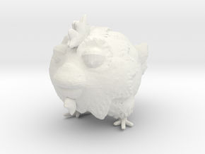 chicken toy in White Natural Versatile Plastic