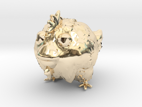 chicken toy in 14K Yellow Gold