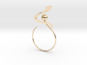 Back to basic collection - size 6 US in 14K Yellow Gold