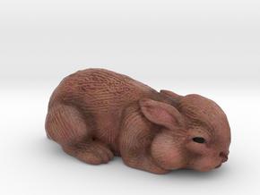 Bunny in Full Color Sandstone