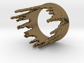 Ring Melting No.3 in Polished Bronze