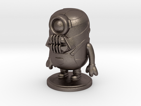 Bane Minion 2.5 Inch in Polished Bronzed Silver Steel