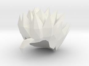 Custom Adult Gohan SSj Inspired Hair for Lego in White Natural Versatile Plastic