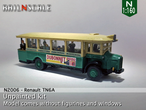 Renault TN6A (N 1:160) in Smooth Fine Detail Plastic