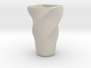 Transformed Cup 1 in Natural Sandstone