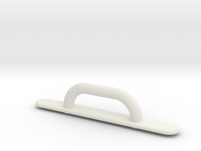 Kayak Deck Loop Fitting in White Natural Versatile Plastic