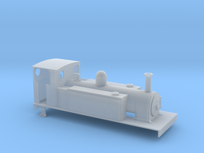 TTn3 CDJR 4-6-0T in Smooth Fine Detail Plastic