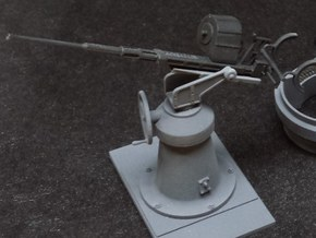 1:24 scale 20mm Oerlikon Set (WITH early Mk.4 Pede in Smooth Fine Detail Plastic