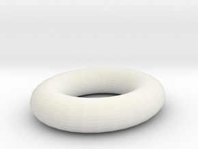 plastic ring in White Natural Versatile Plastic