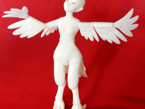 BJD Phoenixling Doll Parts in White Strong & Flexible