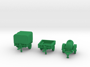 M1101 Set and M149 in Green Processed Versatile Plastic: 1:144