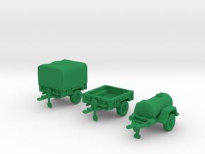 M1101 Set and M149 in Green Processed Versatile Plastic: 1:200