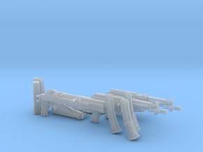 1:6 AN-94 & PP-19-01 Vityaz detail version in Smooth Fine Detail Plastic