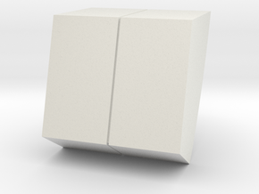 M10A-left wall detail in White Natural Versatile Plastic