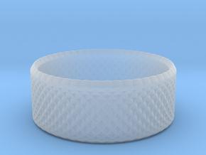 0194 Lissajous Figure Ring (Size0, 11.6mm) #005 in Smoothest Fine Detail Plastic