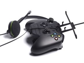 Xbox One controller & chat & NIU Tek 5D in Black Strong & Flexible