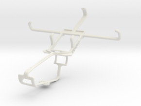 Controller mount for Xbox One & verykool s4510 Lun in White Natural Versatile Plastic