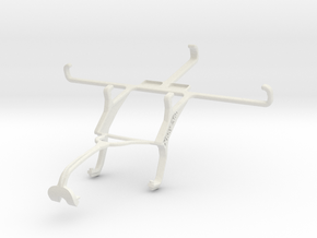 Controller mount for Xbox 360 & verykool s5014 Atl in White Natural Versatile Plastic