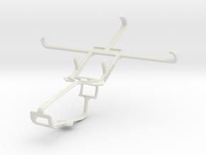 Controller mount for Xbox One & vivo Xshot in White Natural Versatile Plastic