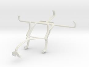 Controller mount for Xbox 360 & vivo Y28 in White Natural Versatile Plastic