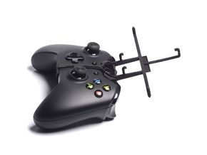 Xbox One controller & Vodafone Smart 4 max - Front in Black Natural Versatile Plastic