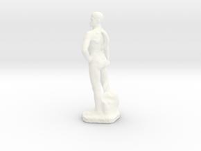 FreeBigio Altezza 45 mm  in White Processed Versatile Plastic