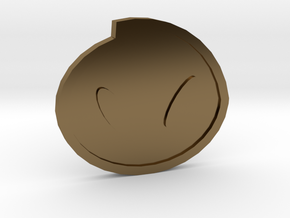 Fog Badge - Johto Pokemon Bagdes in Polished Bronze