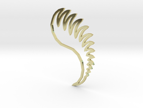 Dragon's Fang Insignia - Outline in 18k Gold