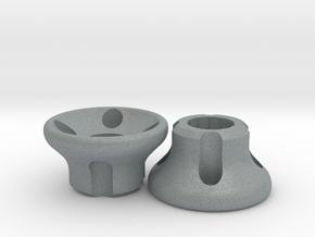 Thumb Savers - Phantom 1 / 2 / 3 / Inspire 1 in Polished Metallic Plastic