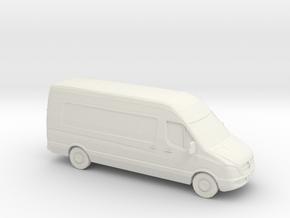 1/87 2006-14 Dodge-Sprinter in White Natural Versatile Plastic