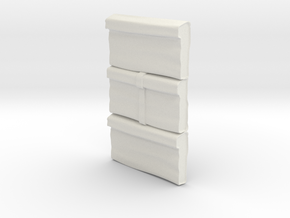 M12-Storage Bags in White Natural Versatile Plastic