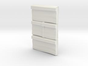 M12-Storage Bags in White Natural Versatile Plastic
