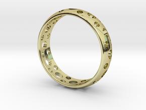 Symbol Ring in 18k Gold