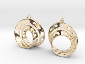 Fantasy-6-EarRings in 14K Yellow Gold