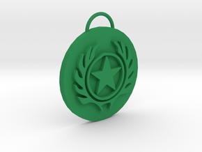 Mortal Kombat Special Ops Pendant in Green Processed Versatile Plastic